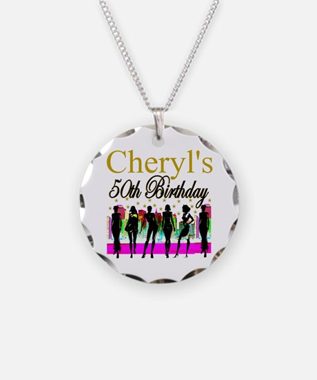 MS DIVA 50TH Necklace