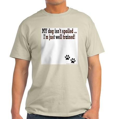 Spoiled Dog Ash Grey T-Shirt