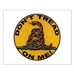 Don't Tread on Me-Circle Small Poster