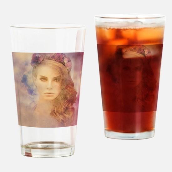 Funny Lana Drinking Glass