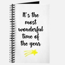 It's the most wonderful time of the year Journal