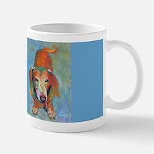 Waggie The Dachshund Dog Large Mugs