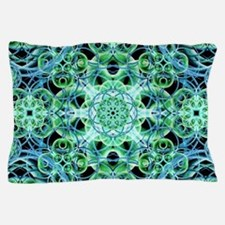Ethereal Growth Mandala Pillow Case