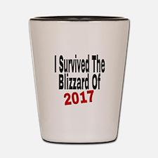 Unique Blizzard Shot Glass