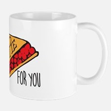 Throw Pie Small Small Mug