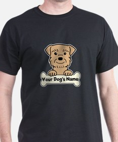Personalized Border Terrier T-Shirt