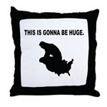 Trump Dump Throw Pillow