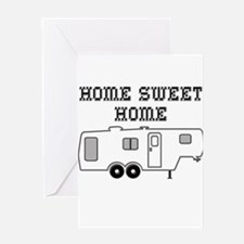 Home Sweet Home Fifth Wheel Greeting Card