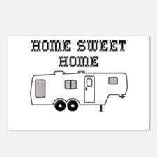 Home Sweet Home Fifth Whe Postcards (Package of 8)