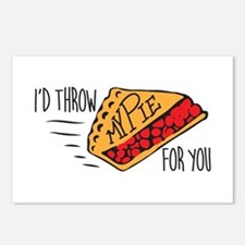 Throw Pie Postcards (Package of 8)