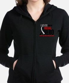 Carcinoid Cancer Real Hero 2 Sweatshirt