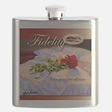 Unique Braddock Flask
