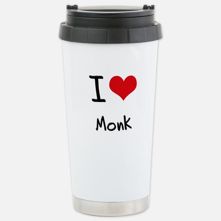 Cute Monastic Travel Mug
