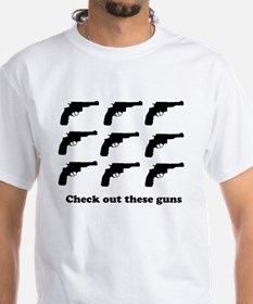 Check out these guns, T-Shirt