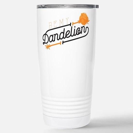 Be My Dandelion Stainless Steel Travel Mug