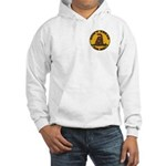 Don't Tread on Me-Circle Hooded Sweatshirt