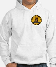 Don't Tread on Me-Circle Hoodie