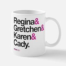 Mean Girls Character Names Mug