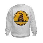 Don't Tread on Me-Circle Kids Sweatshirt