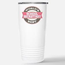 school secretary Stainless Steel Travel Mug