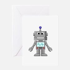 Happy Robot Greeting Cards