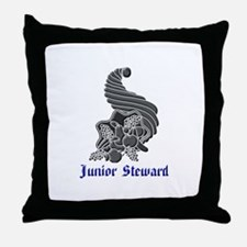 Unique Steward Throw Pillow