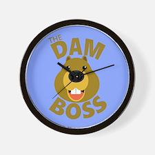 The Dam Boss BBG Wall Clock