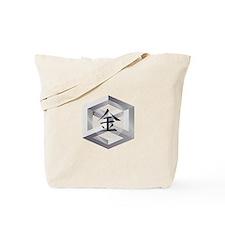 Metal Element Tote Bag