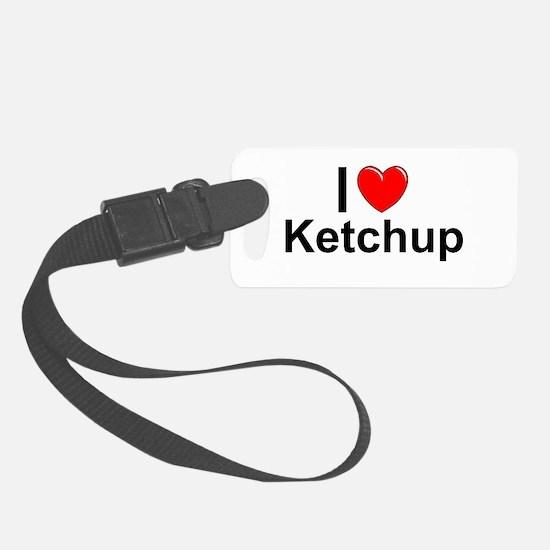 Ketchup Luggage Tag