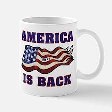 AMERICA IS BACK Mugs