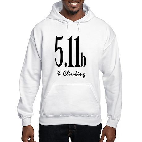 5.11b & Climbing Hooded Sweatshirt