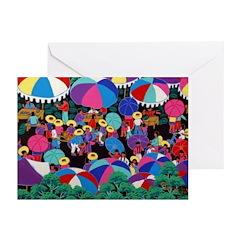Folkart Market Greeting Cards (Pk of 20)