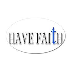 Have Faith Wall Decal