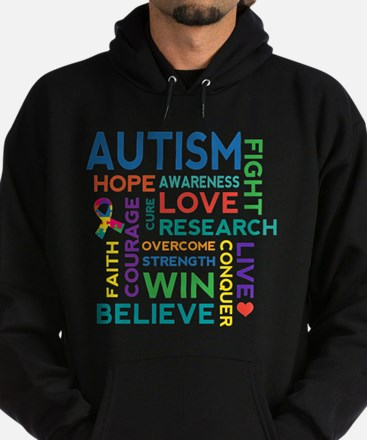 Autism Word Cloud Sweatshirt