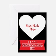 Happy Valentines Personalized Greeting Card