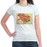 Flat S Carolina Jr. Ringer T-Shirt