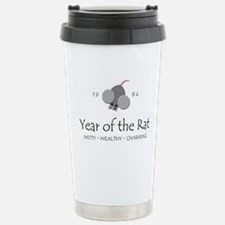Cute Year of the rat Travel Mug