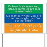 Immigration Yard Signs