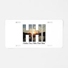 Harbour Town Hilton Head Aluminum License Plate