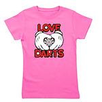 Love Darts Girl's Tee