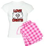 Love Darts Women's Light Pajamas