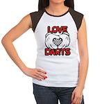 Love Darts Junior's Cap Sleeve T-Shirt