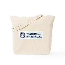 WESTPHALIAN DACHSBRACKE Tote Bag