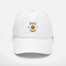 Jesus Skull Baseball Baseball Cap