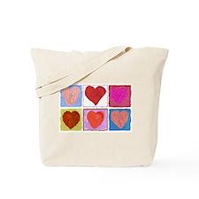 Lotsa Hearts Tote Bag