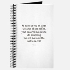 Cute Work quotes funny Journal