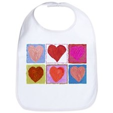 Lotsa Hearts Bib