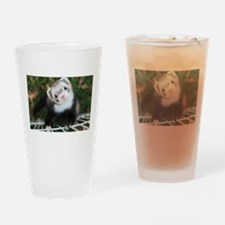 Noodle The Ferret Drinking Glass