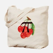 Moms Delicious Cherry Pi Tote Bag
