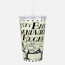 Bacon Sandwich of Regr Acrylic Double-wall Tumbler